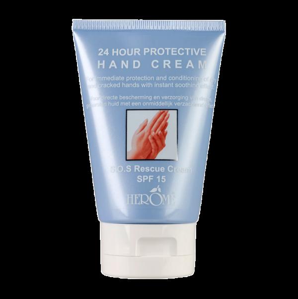 Moisturizing handcreme werking 24 uur voor herstellen uitgedroogde huid