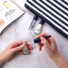 French Manicure Nagellak met een glitter nagellak