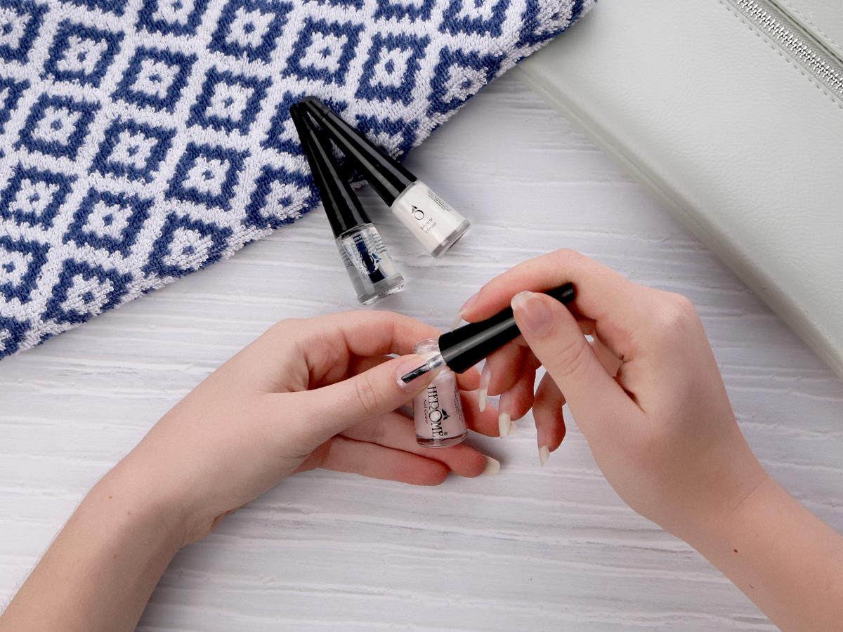 French manicure aanbrengen