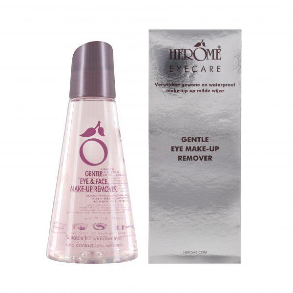 Make-up remover met verzachtende ingrediënten voor waterproof make-up verwijderen en gevoelige huid
