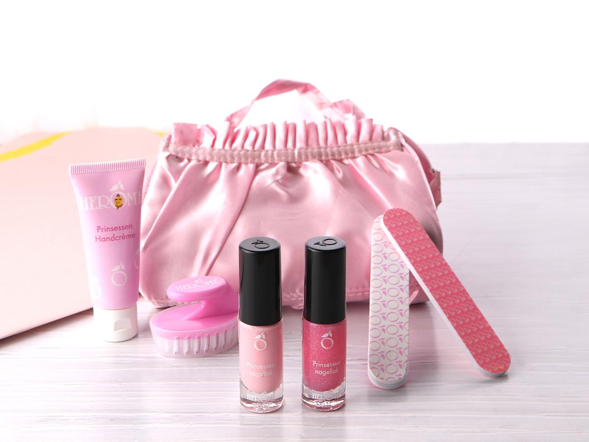 Kindvriendelijke hand- en nagelverzorgingsproducten inclusief nagellak