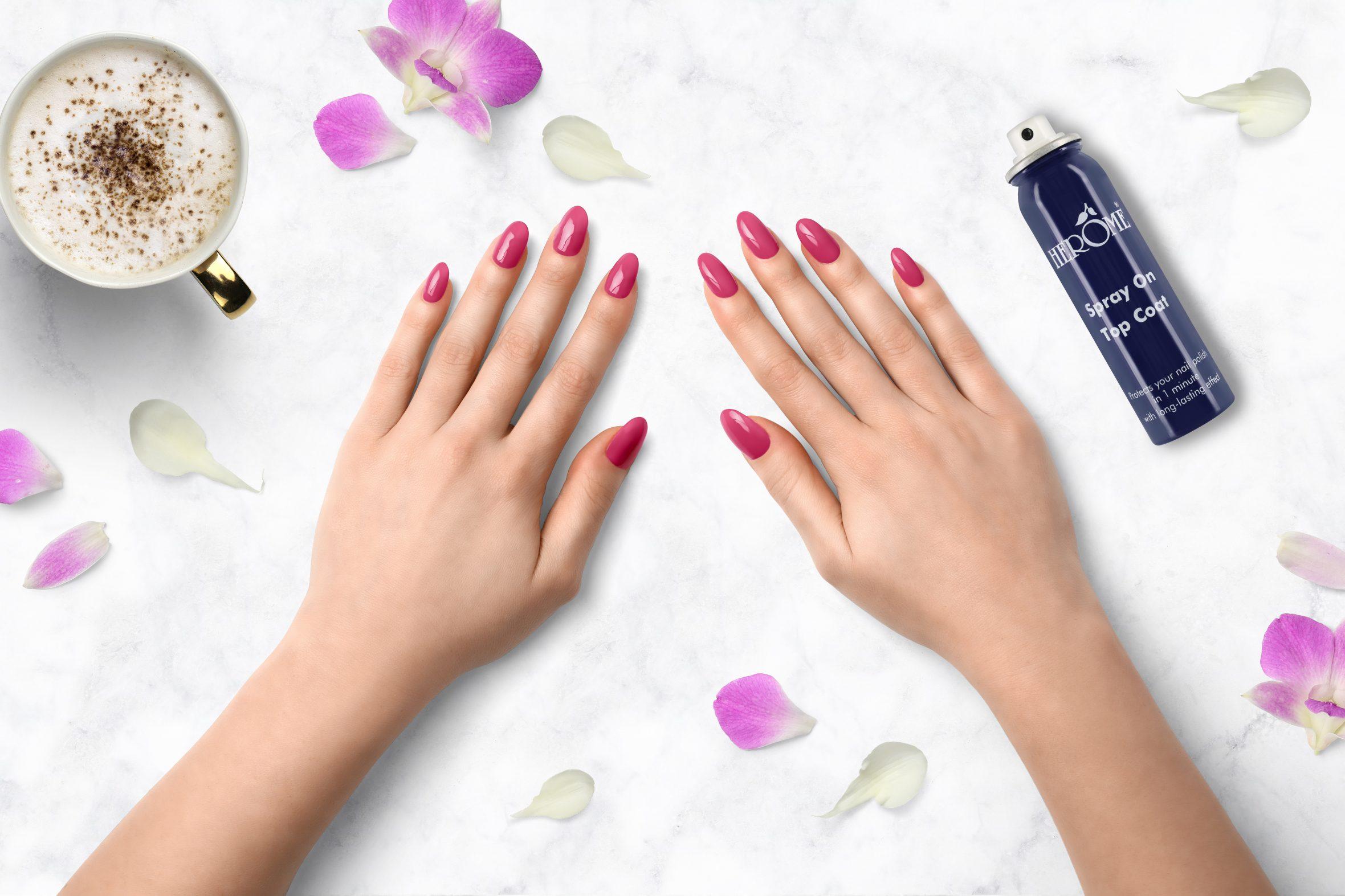 Magenta nagellak voor je manicure