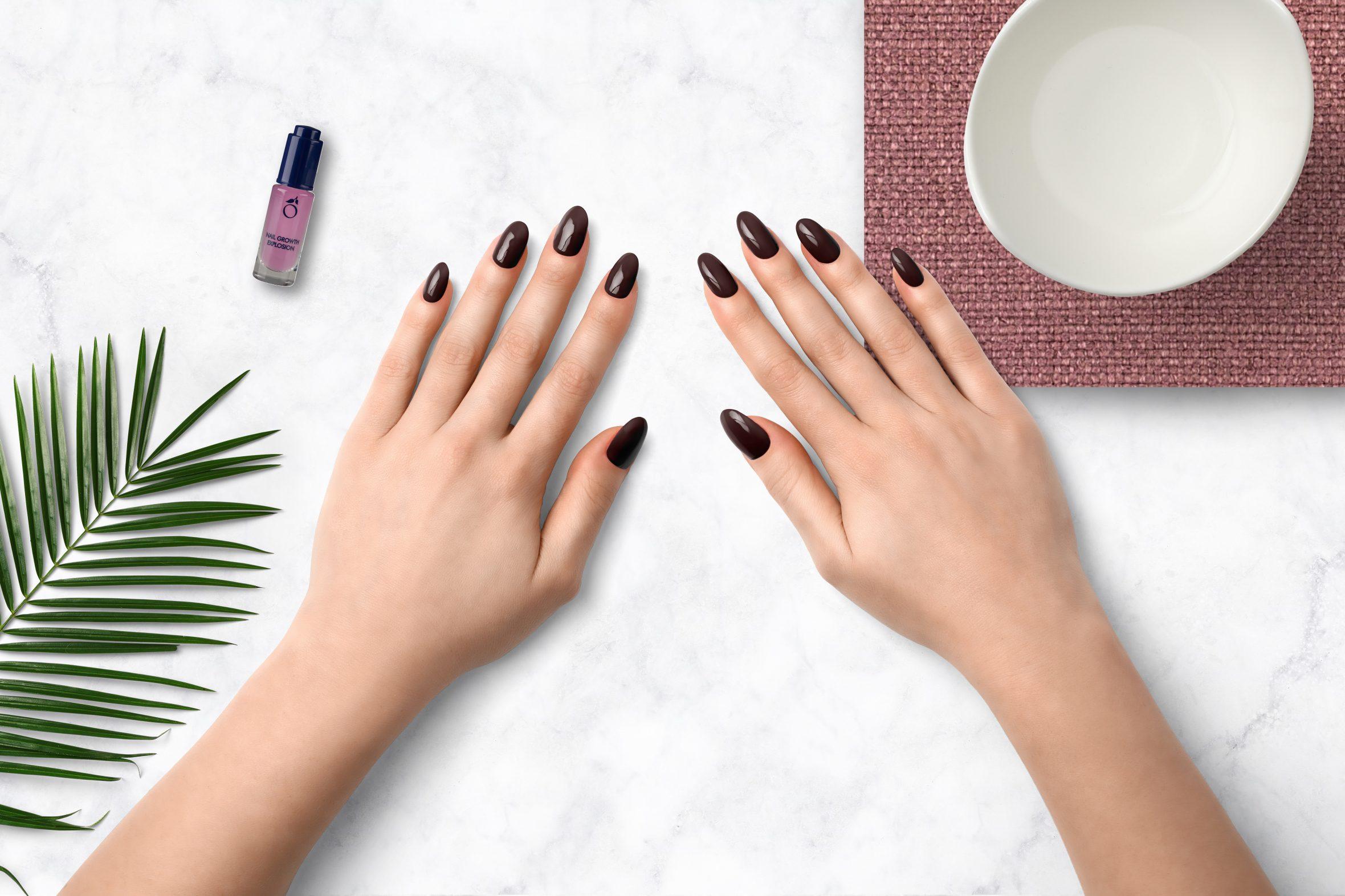 Chocolade bruine nagellak als nagellak trend voor herfst/winter