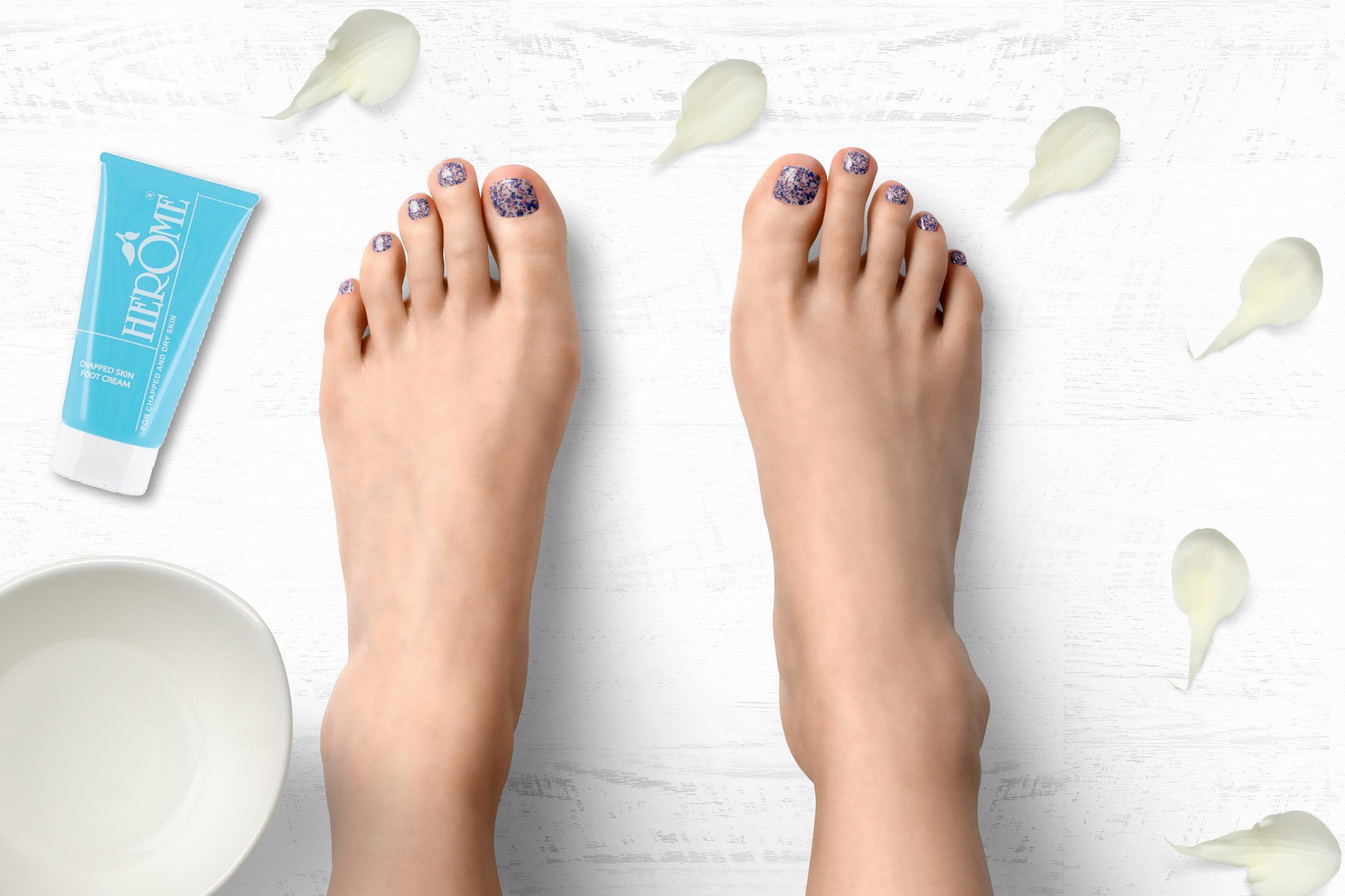Glitter nagellak van Herôme voor je eigen nailart