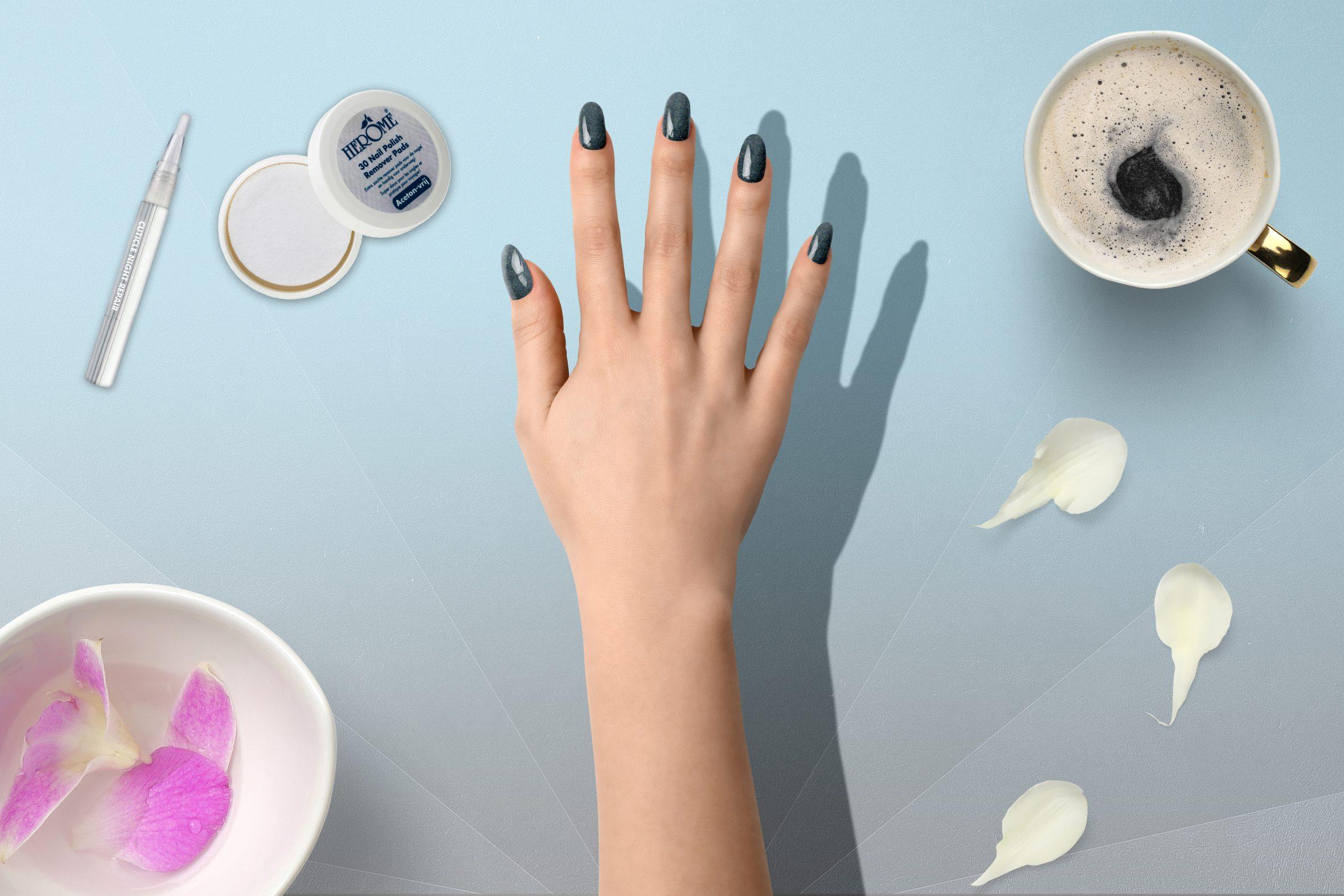 glitternagellak van Herôme voor je manicure en nailart