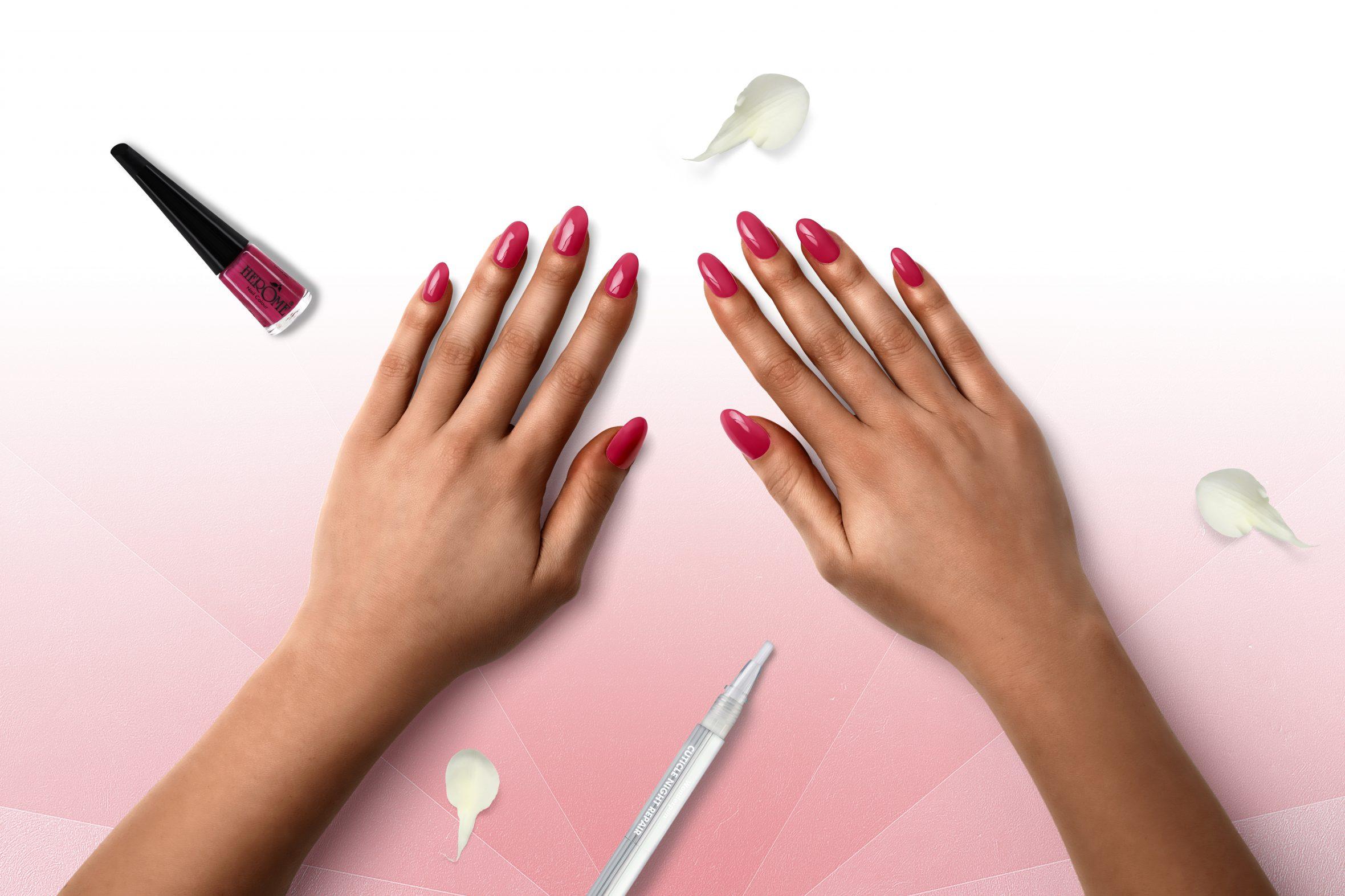 Donker roze nagellak kleurnummer 20 van Herôme