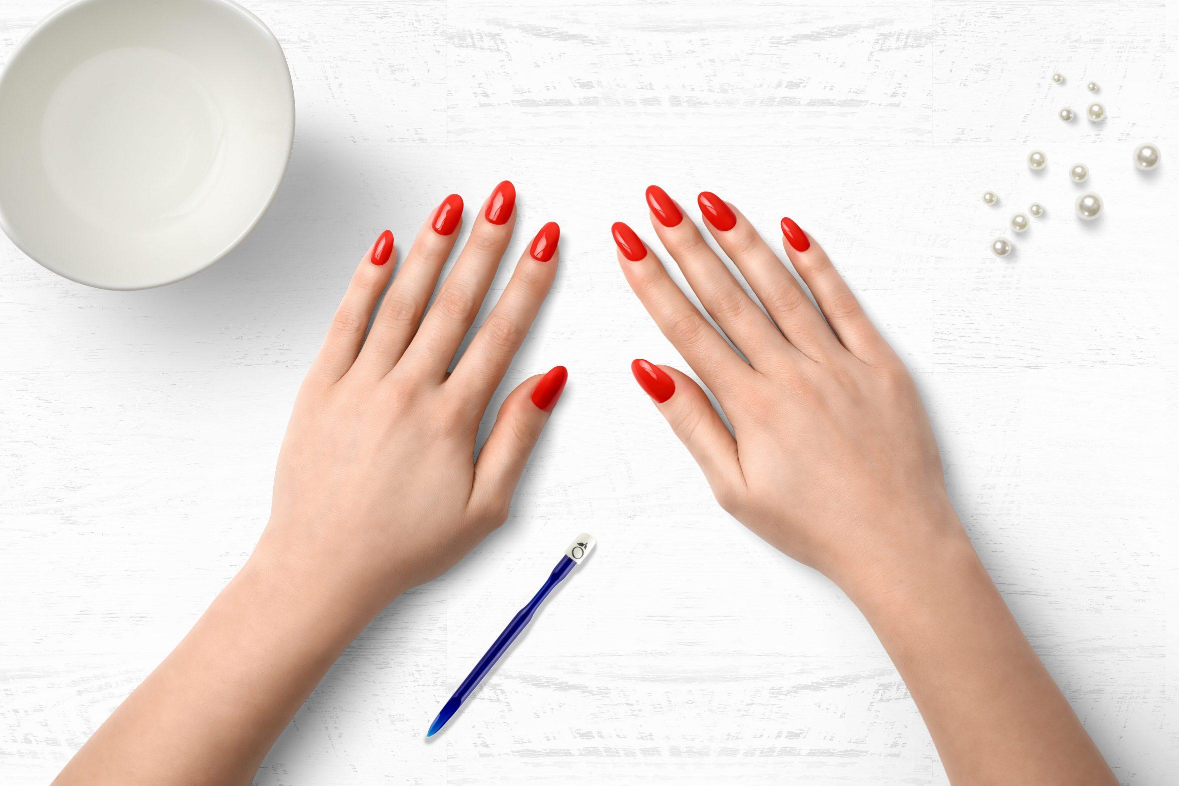 Oranje nagellak uit de nagellak collectie van Herôme