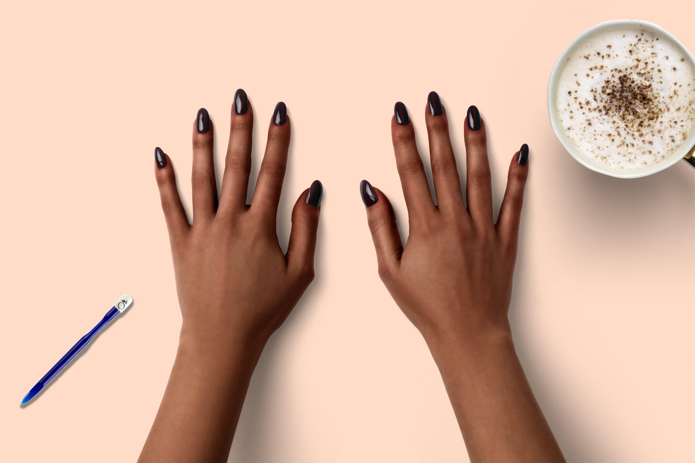 Raisin nagellak kleur voor je manicure