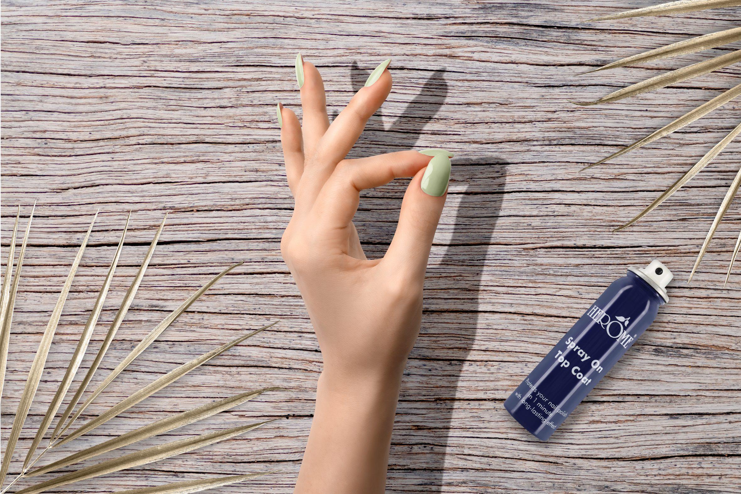 Herôme lichtgroene nagellak van Herôme