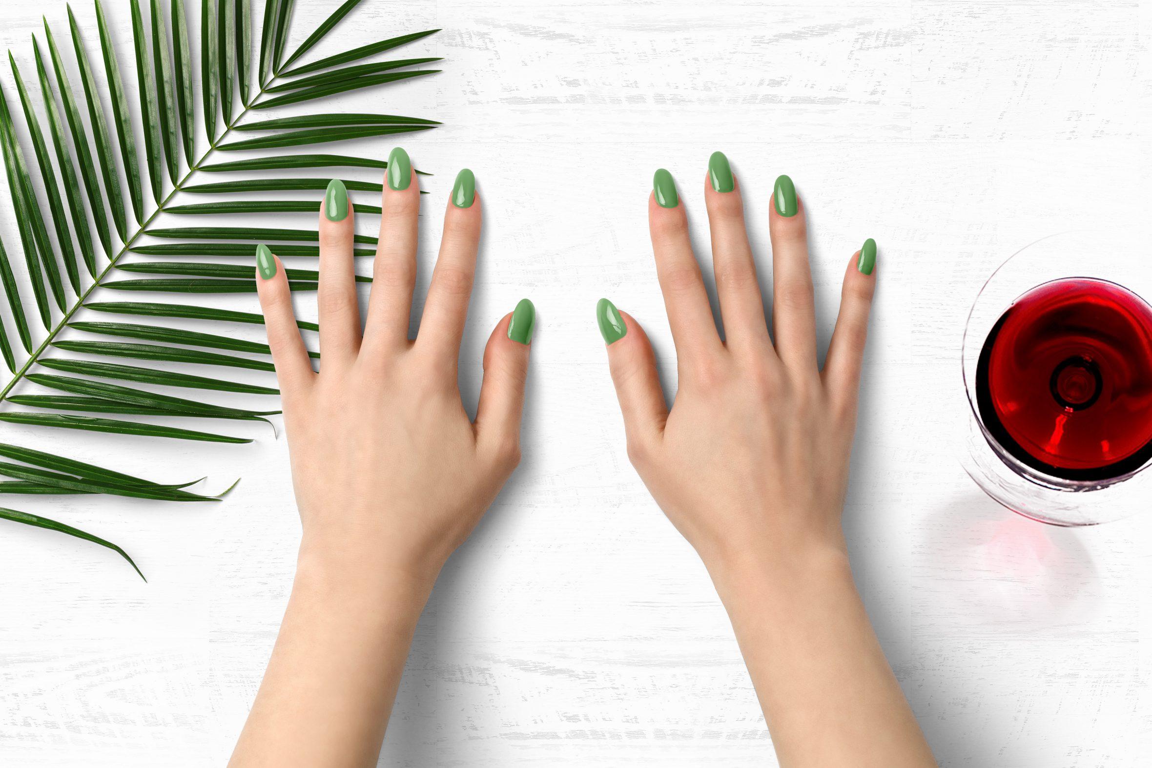 Pistache nagellak kleur voor je manicure
