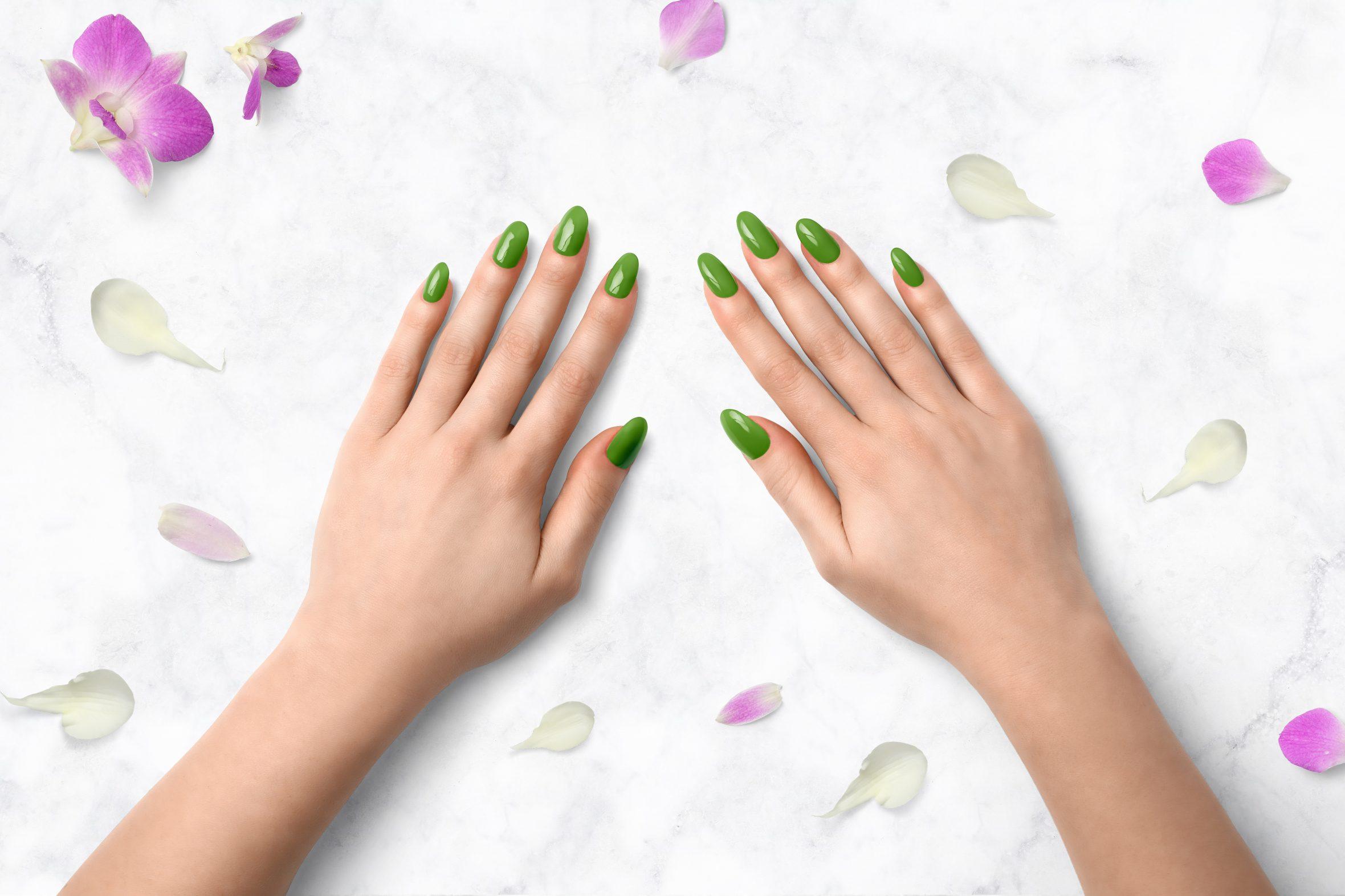 Groene nagellak voor je mooie manicure