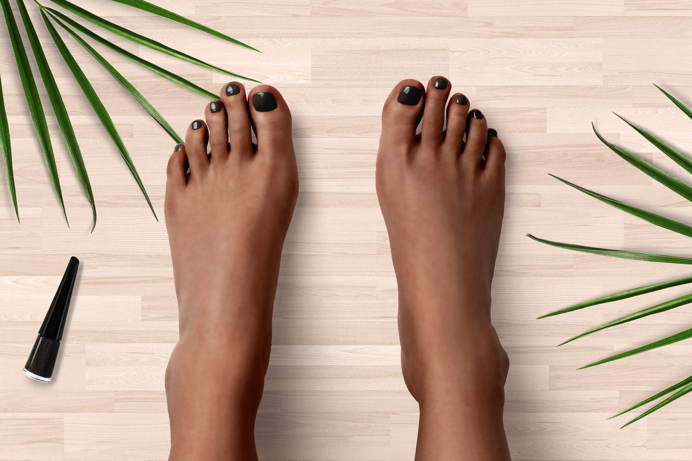 Bruine nagellak van Herôme voor mooie nagels
