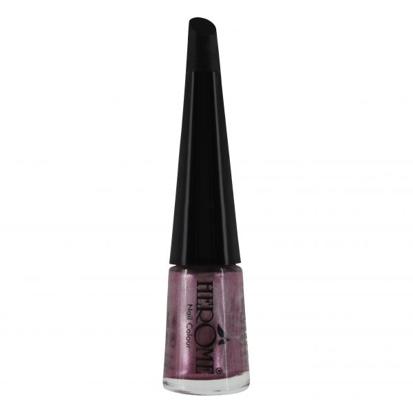 Donker roze nagellak met shimmer van Herôme