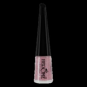 Roze glitter nagellak van Herôme