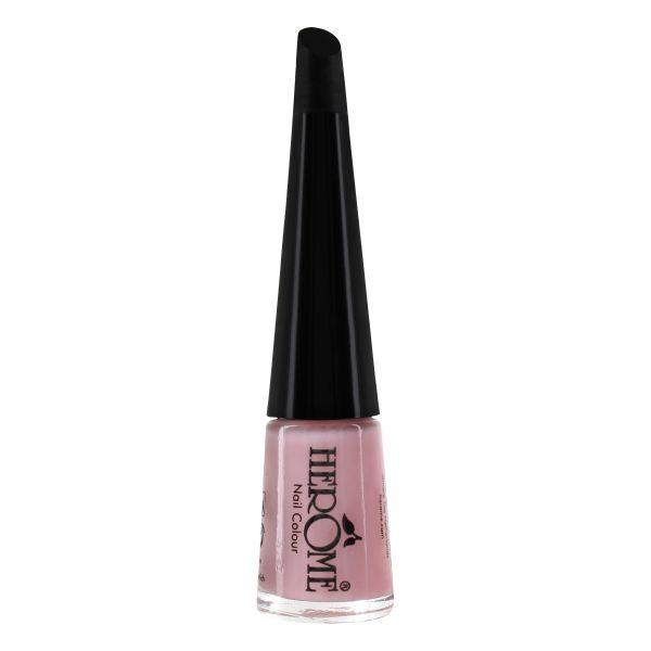 Licht roze nagellak kleur van Herôme met kleurnummer 14