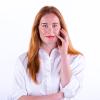 Mascara bruin voeden wimpers. volume en voor gevoelige ogen