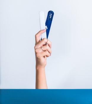 Herôme glazen nagelvijl
