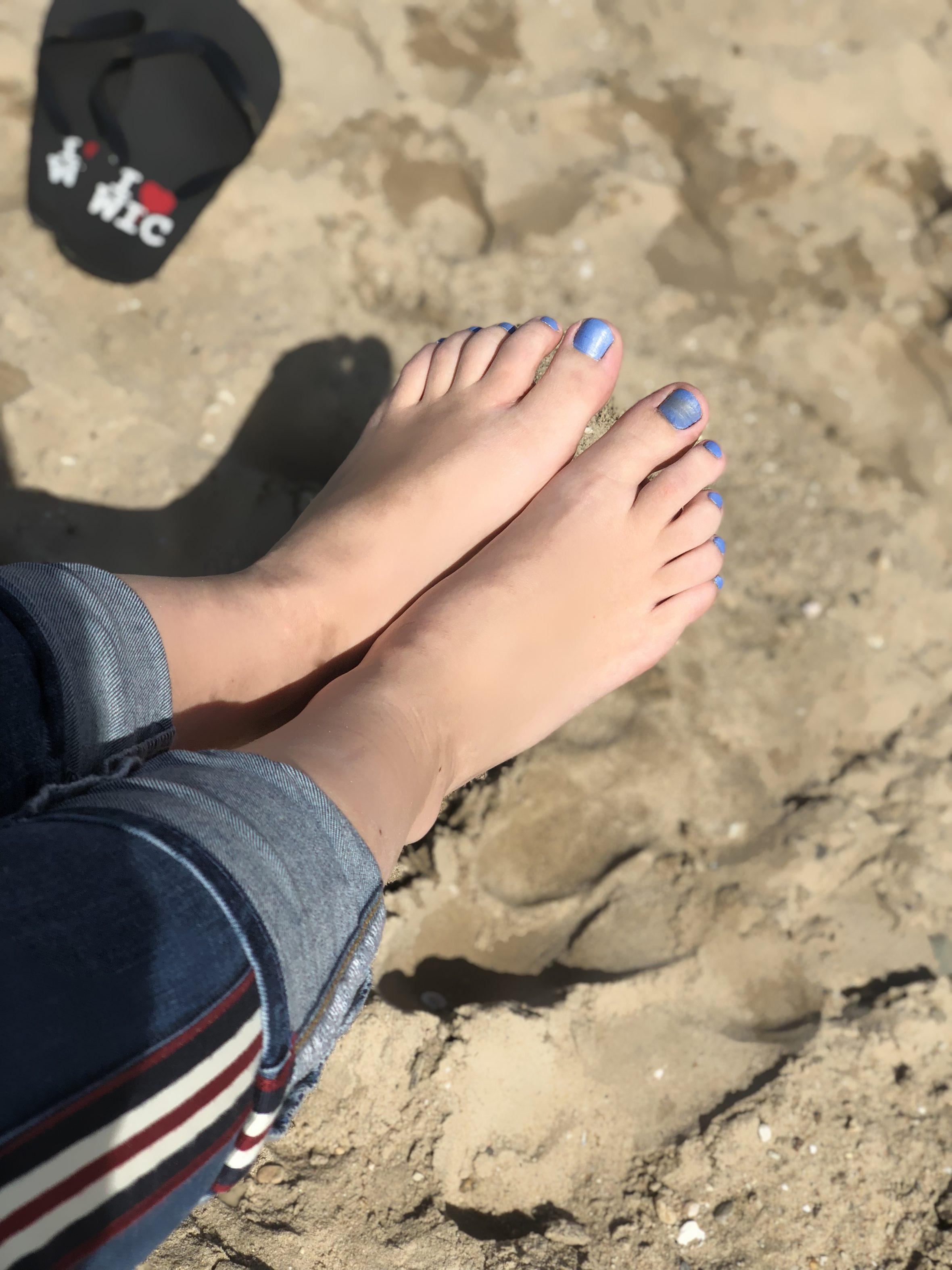 Negallak vervaagd door zand gebruik Colour Revival voor herstel