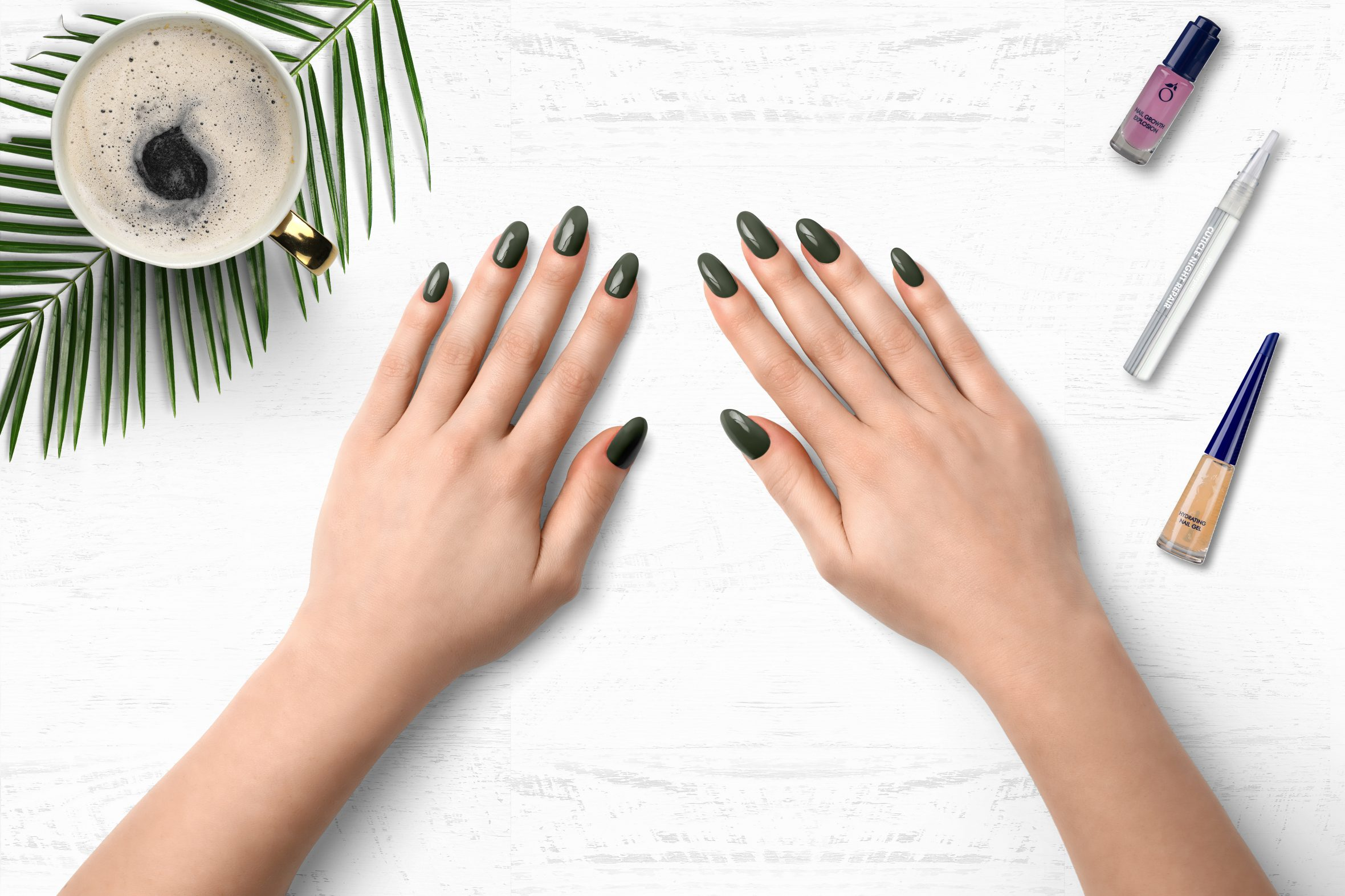 Metallic nagellak kleurnummer 181 van de Herôme nagellak kleuren
