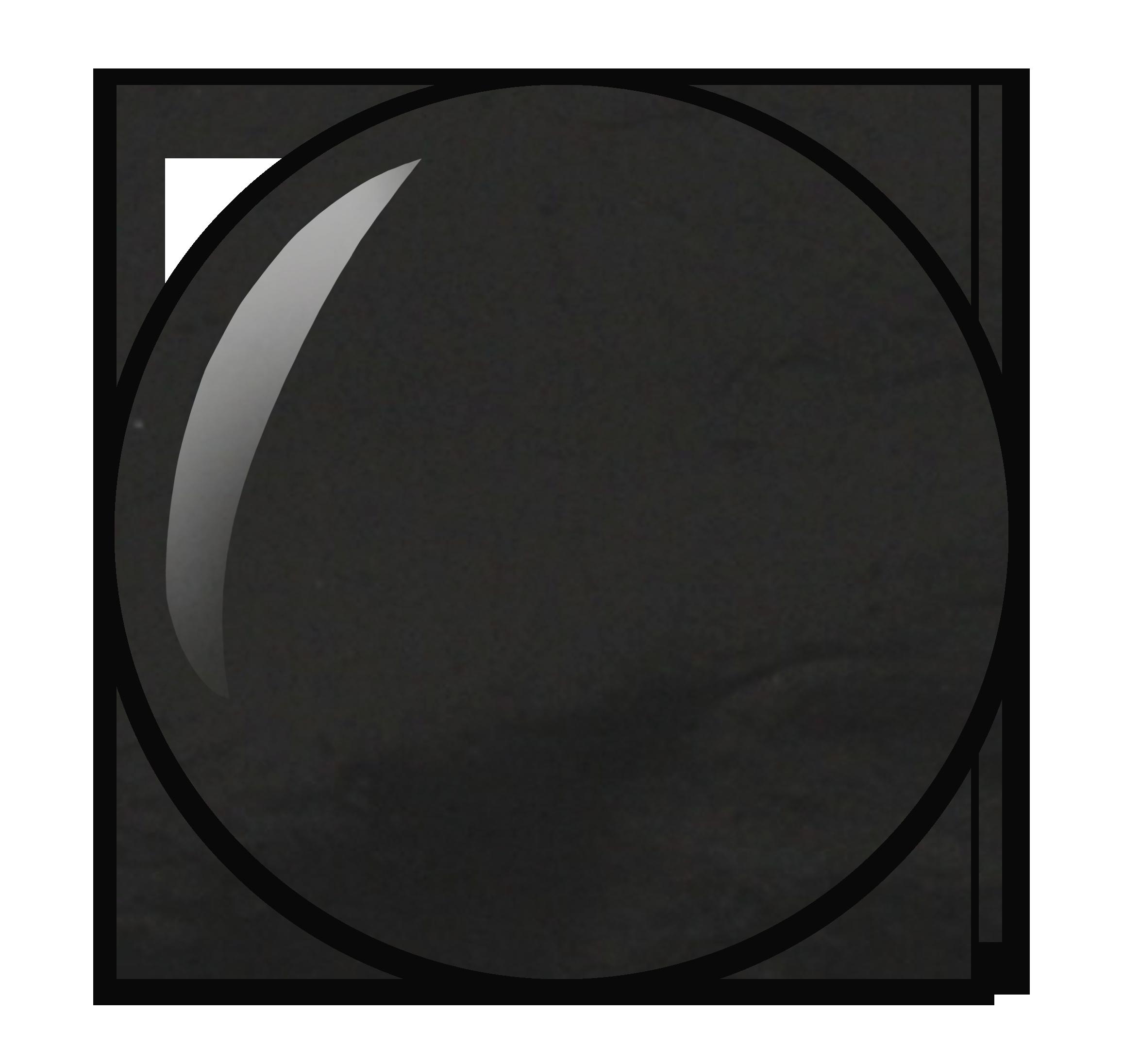 Zwarte nagellak nummer 72 uit nagellak collectie