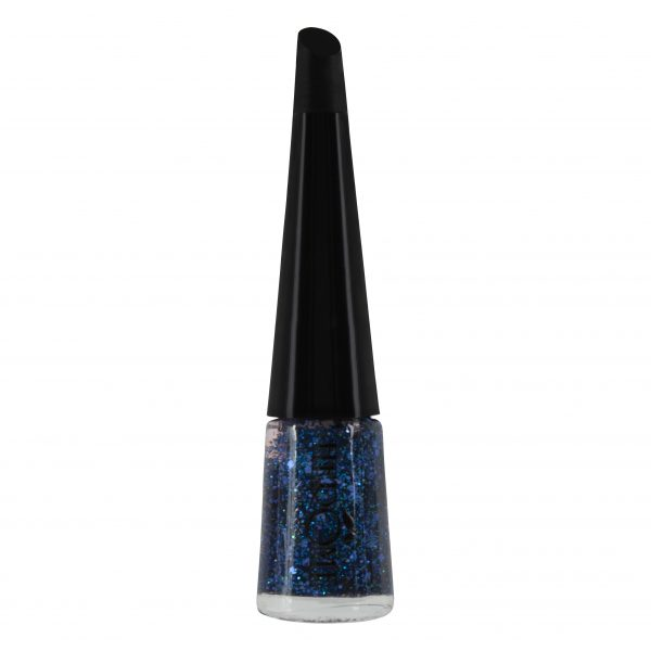 blauwe glitternagellak van Herôme