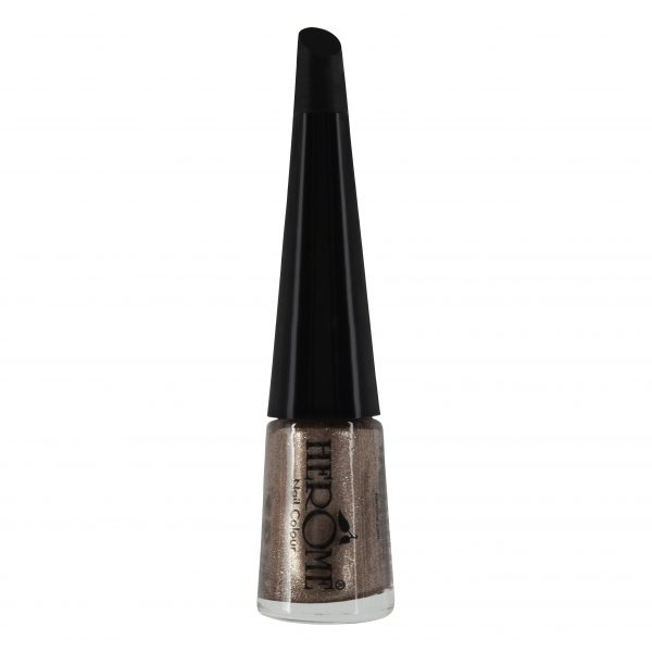 Bronze glitter nagellak van Herôme