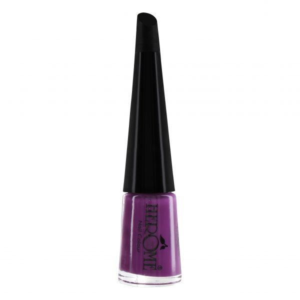 Donker paarse nagellak