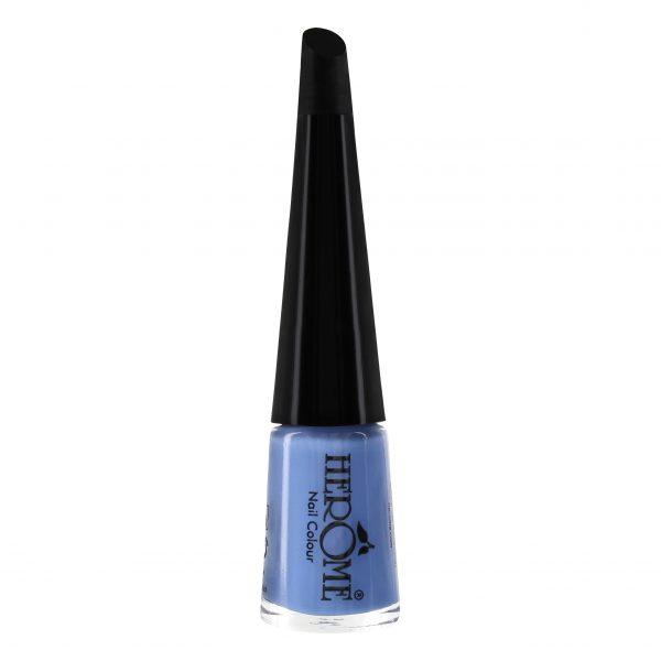 Hemelsblauw kleur nagellak Herôme