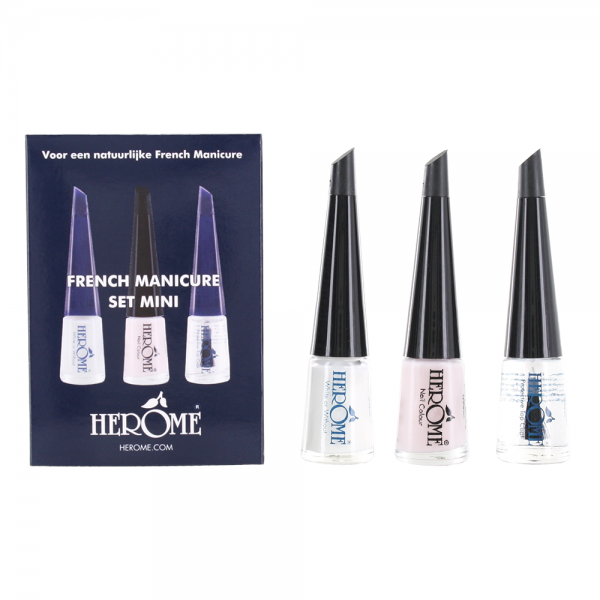 French manicure set mini