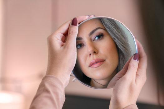 Ooog make-up van Herôme