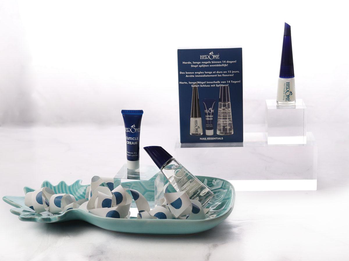 Producten blauwe Nail Essentials Set