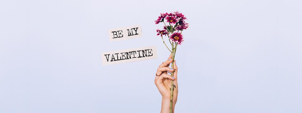 Vandaag is rood de kleur van valentijnsdag