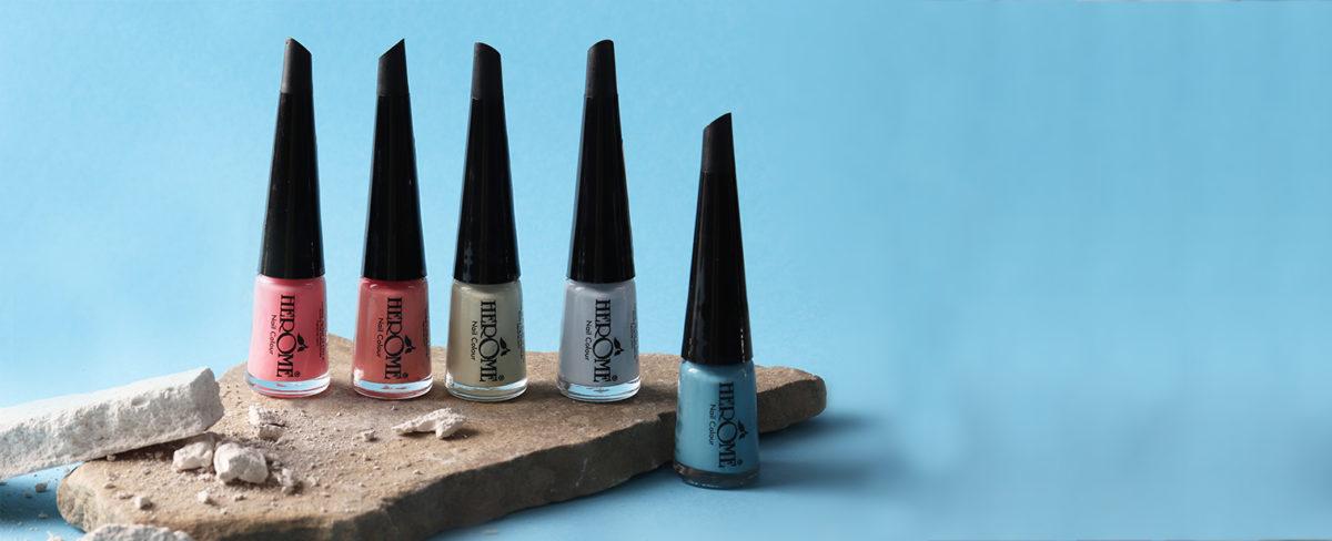 Lente selectie nagellak kleuren