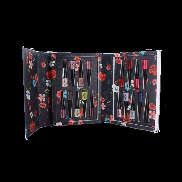 Nagellak set gevuld met 18 nagellak kleuren