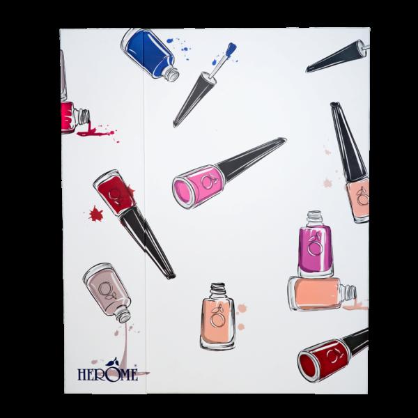 Nagellak set met 100 nagellak kleuren